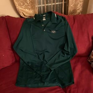 Long sleeve polo New York Jets shirt